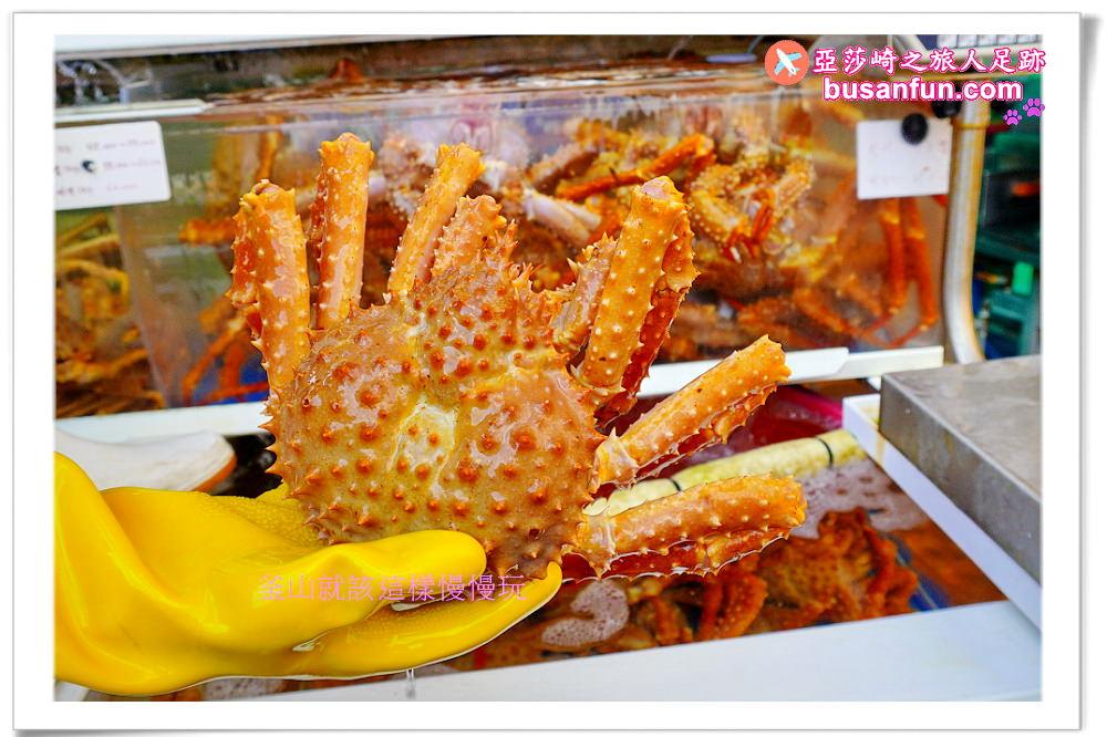 釜山站海雲台機張市場免費螃蟹專車2020乘車地點交通指引