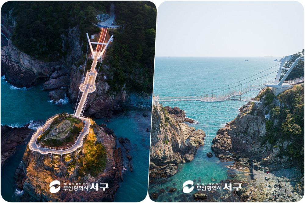 釜山新景點2020|松島龍宮雲橋 송도용궁구름다리