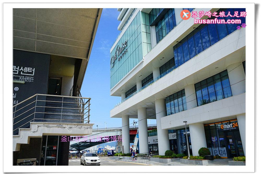 釜山南浦站景點 影島觀光諮詢中心 觀景台咖啡CAFE MAREN 影島大橋